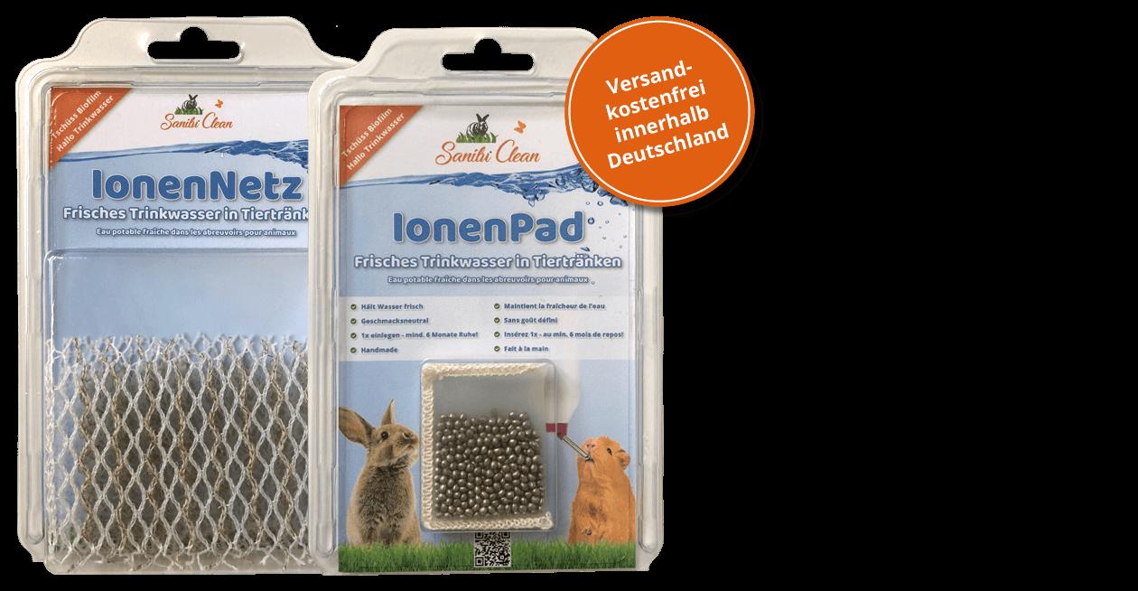 Das IonenPad für eine langanhaltende saubere Tiertränke